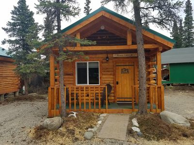 Photo for Cozy Moose Log Cabin
