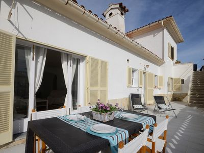 Photo for Villa Bambu in Puerto Pollensa for 8 people only 50 meters from the beach