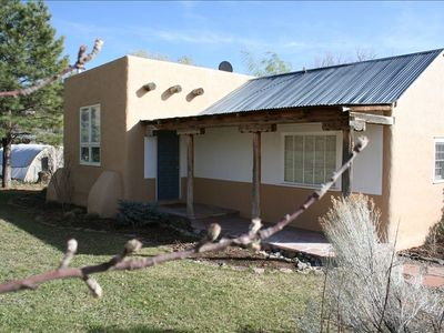 Photo for Charming Adobe Cottage in Idyllic Setting. Artist's Getaway.