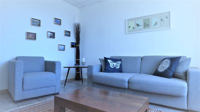 Photo for Very nice apartment in the city center with superb view of the Rhone, wifi, bike
