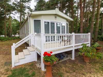 Photo for 8 berth caravan for hire on the Wild Duck holiday park in Norfolk. ref 11269