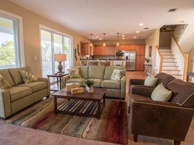 Photo for Cozy, waterfront home w/ private pool & Jacuzzi - near all major attractions!