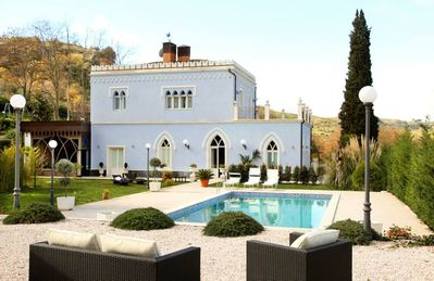 Photo for Superb villa with private pool near Taormina, Sicily