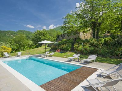 Photo for Wonderful private villa for 8 people with private pool, WIFI, TV and parking