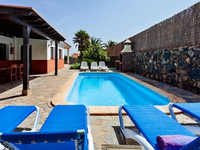 Photo for Casa La Vera, 5 bedroom, 5 bathroom villa with garden and private pool