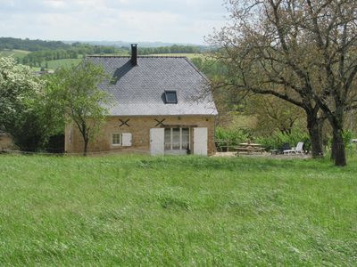 Photo for comfortable cottage in old barn with BOURNAZEL