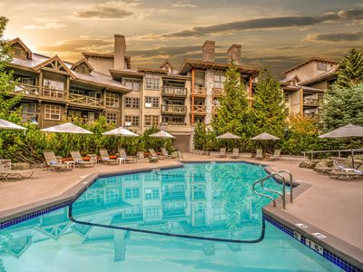 Photo for Spacious + Charming Condo with Hot Tub Access | Great Location!