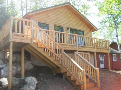 Photo for New Log Home w/ Boat Rental/All Inclusive Meals/Safe Docking Options