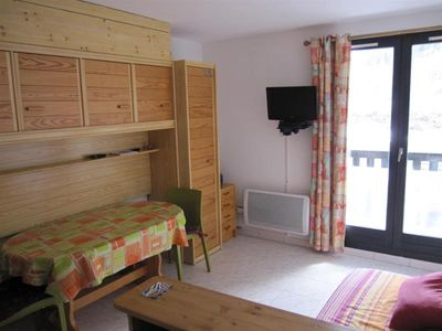 Photo for Studio for 2/4 people on the slopes Comète Réallon 113C