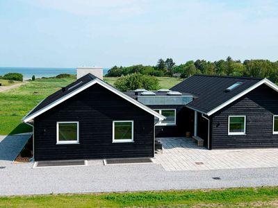Photo for Seaview Holiday home in Jutland with Sauna and pool