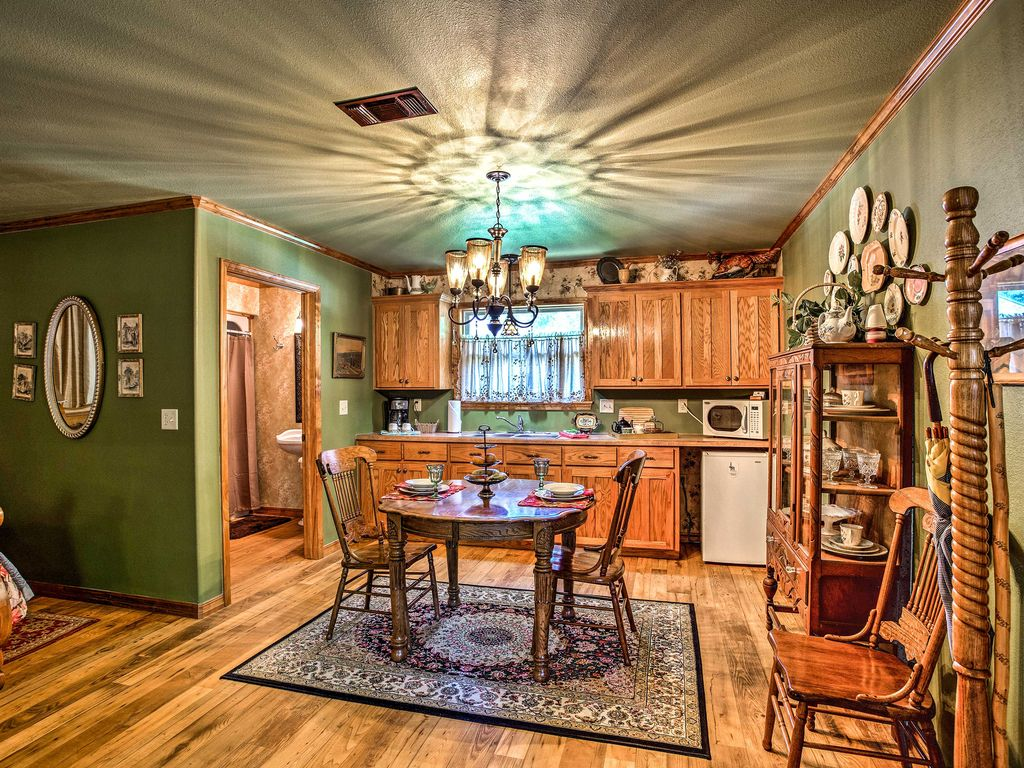 NEW! Secluded Broken Bow Studio-Hike, Boat & Fish!