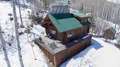 YULE CREEK LODGE-53 Acres Of Privacy And Easy Access