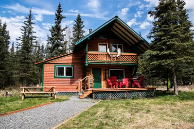 Crooked Moose cabin