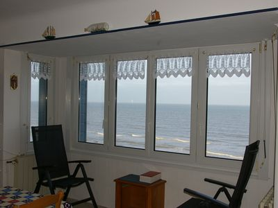 Appartement sur digue de mer