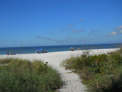 Photo for Seaside Bungalow - Beautiful Gulf of Mexico beach and heated pool