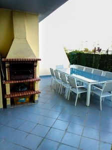 Photo for 500mt from the Beach, 500mt Marina, Wifi, Swimming Pool, Children's Playground