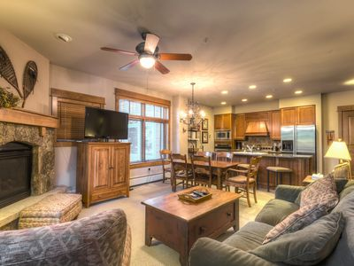 Photo for Ski-in/Ski-out, Spacious 2-Bedroom High-end Condo, Private Laundry, Free WIFI