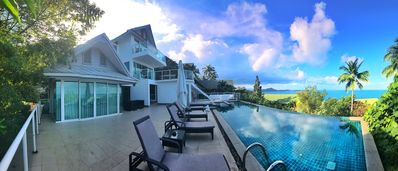Photo for Amazing Seaview Villa Koh Samui Thailland