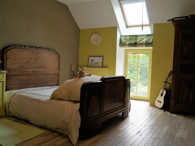 Photo for Lovely guest room that can accommodate 3 guests and a cot.