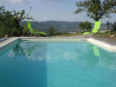 Photo for Comfortable apartment for 2-4 people. with great terrace near Acqui Terme