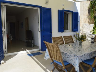 Photo for Holiday Home with Fantastic Outdoor Area, Sea View and Wi-Fi