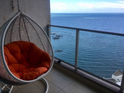 Photo for Luxurious Romantic Ocean Front Condo in Punta Pacifica, max 6 people, longtime 2
