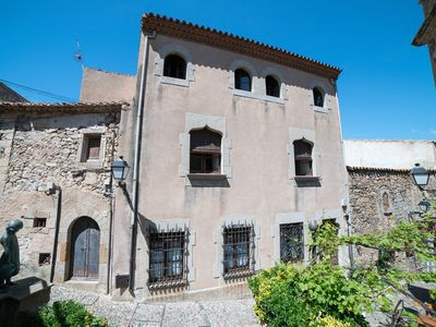 Photo for Medieval House in Tossa de Mar old city  - Castle (100m away from the beach)
