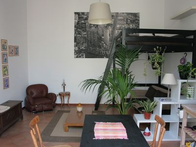 Photo for Super cute loft in the old town with private roof terrace