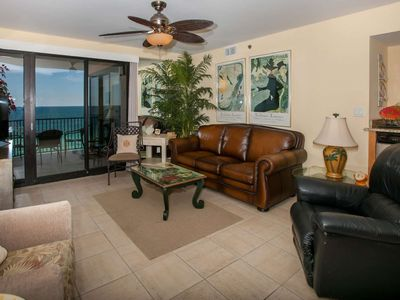 Photo for Gulf-Front Condo. 2/2, Sleeps 6, MBA w/Jacuzzi, Pool/Hot Tub/Fit Ctr/Free Activities - Broadmoor 602