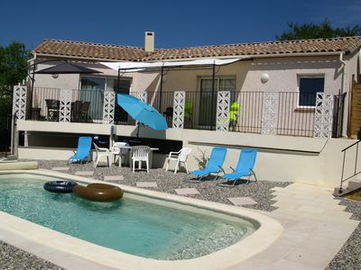 Photo for Villa Champ de Roberta 4 **** with pool and reversible air conditioning american style