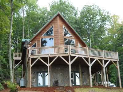 Photo for Stone Mountain Serenity -  Amazing Views, close to Wine Country & Parks!