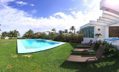 Photo for Exclusive villa in front of the sea
