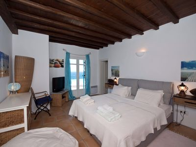 Photo for Villa Nepenthes, Sea-view Mykonos