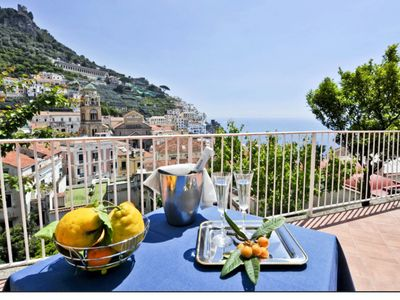 Photo for La Limonaia, panoramic view of the Cathedral of Amalfi
