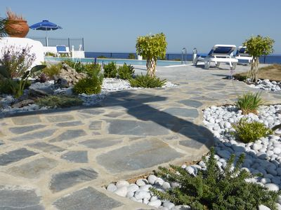 Photo for Relax and rejuvenate with the glorious sea views from Villa Aspa in Gennadi