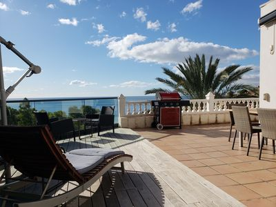 Photo for Big Solarium - sea view - pool - nice garden - sleep up to 6 -  private location