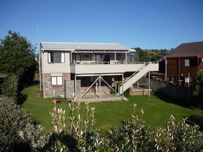 Photo for Sea views, 2 levels, elevated deck, 6 bedrooms,