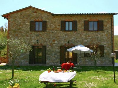 Photo for Stunning Farmhouse in Passignano with Swimming Pool