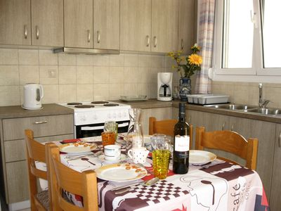 Photo for Cosy apartment with stunning mountain view ,only 5 min to the beach