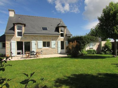 Photo for In a quiet South exposure, beach walk, GR34, BBQ, 3 cars, detached house