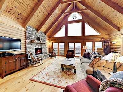 Photo for Stunning Mountain Views! 4BR w/ Beautiful Furnishings, Game Room & Large Deck