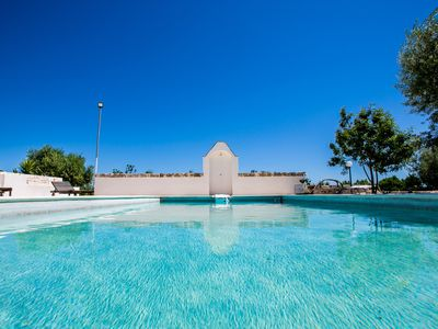 Photo for Trullo with pool surrounded by nature ... A few km from Polignano a Mare