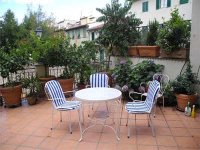 Photo for In the centre of Florence, apartment of over 150 m² with sun deck