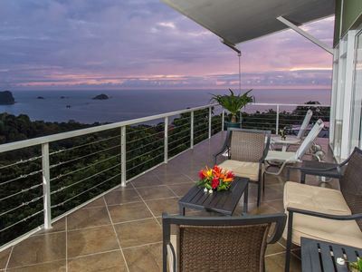 Photo for LUXURY 4/SUITE VILLA-AMAZING OCEAN & JUNGLE VIEWS WITH POOL & ROOFTOP JACUZZI