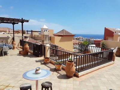 Photo for Holiday apartment Costa Adeje for 1 - 6 persons with 2 bedrooms - Penthouse holiday apartment