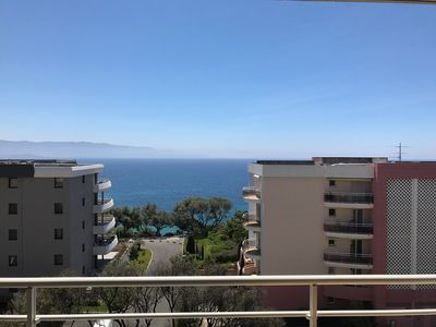 Photo for Apartment T3 Ajaccio sea view near beach.