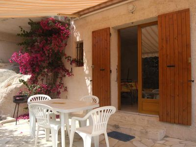 Photo for South Corsica-Tarco, Ground floor close to the sea