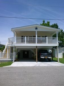 Photo for Beach Home with lots of Amenities!! Wi-Fi, Golf Cart, & Linens