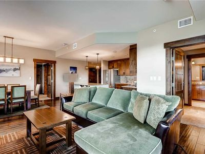 Photo for Luxurious Mountain Condo w/Onsite Workout Facility, Pool & Fire Pit!