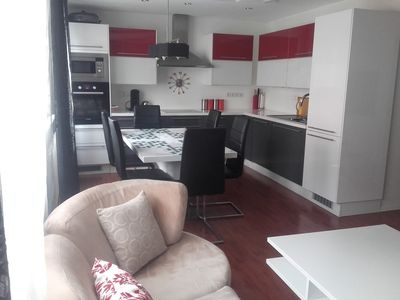 Photo for SPACIOUS AND MODERN APARTMENT 3 BEDROOMS QUIET AT THE SHELTER OF THE CIRCULATION